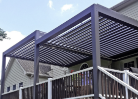 Louvered Roof Systems Can be Customized to Match Any Patio and Home