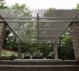 Louvered Roof System Patio Covers from Treaty Oak Shade Co.