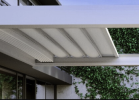 Sleek and Modern Retractable Roof System Patio Cover In Austin, TX